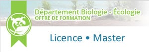 licences masters biologie écologie